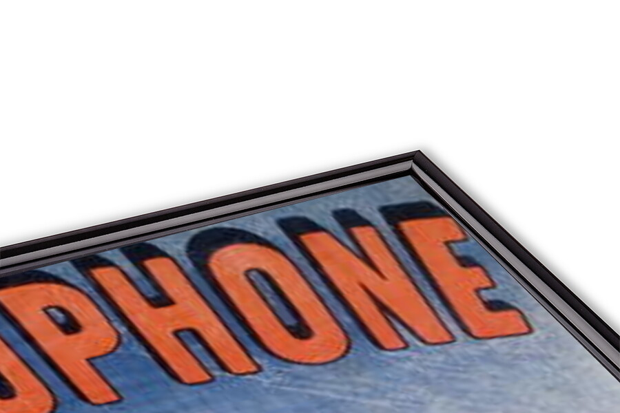 Poster Advertising the 'Theatrophone' Obrazová reprodukcia
