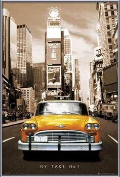 Plagát New York taxi no. 1