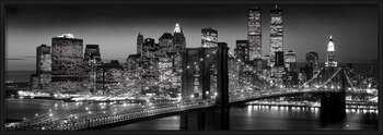 Plagát Manhattan - black