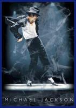 Plagát Michael Jackson 3D