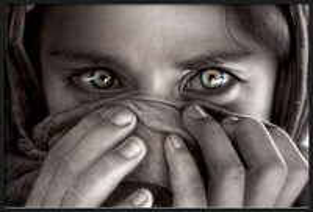 Plagát Afghan girl - limitovaná edice