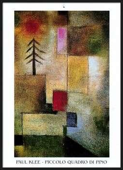 Plagát  P.Klee - Piccolo Quadro Di Pino