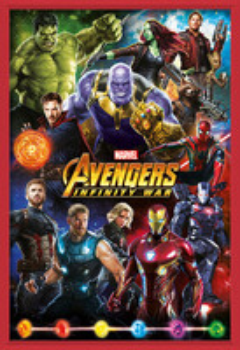 Plagát  Avengers: Infinity War – Characters