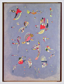 Plagát  Wassily Kandinsky - Sky Blue