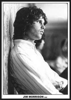 Zarámovaný plagát Jim Morrison - The Doors 1968