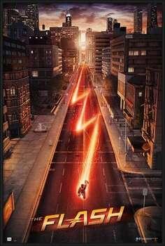 Zarámovaný plagát The Flash - One Sheet