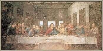Zarámovaný plagát The Last Supper