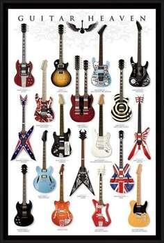 Zarámovaný plagát Guitar heaven