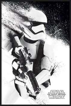 Zarámovaný plagát Star Wars Episode VII: The Force Awakens - Stormtrooper Paint