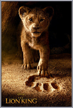 Zarámovaný plagát The Lion King - Future King