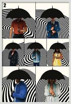 Zarámovaný plagát The Umbrella Academy - Family