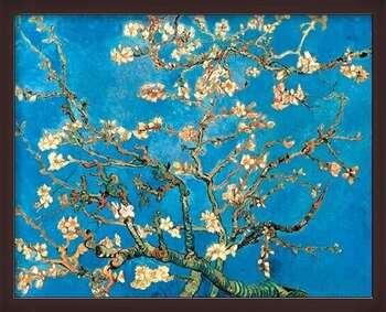 Zarámovaný plagát Almond Blossom - The Blossoming Almond Tree, 1890