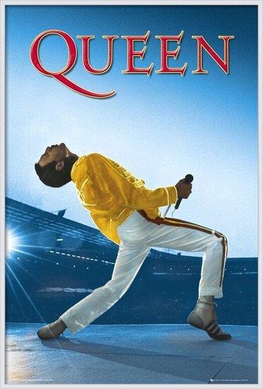 Plagát Queen - Live At Wembley