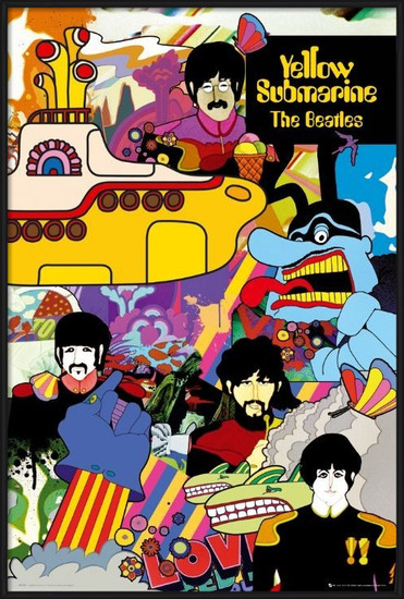 Plagát the Beatles - yellow submarine