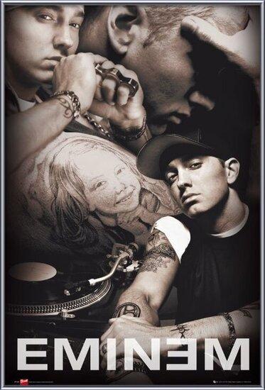 Plagát  Eminem - collage Bravado