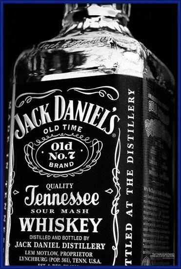 Plagát  JACK DANIELS - bottle