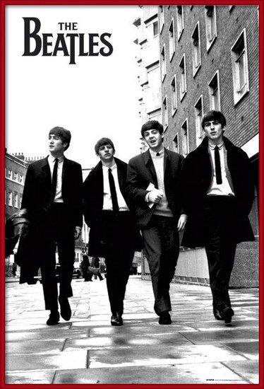 Plagát  Beatles - in London