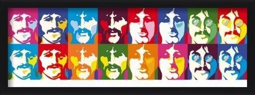 Plagát  Beatles - sea of colour