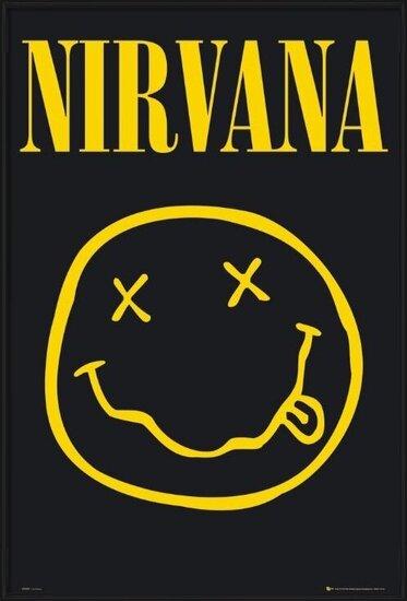 Plagát  Nirvana – smiley