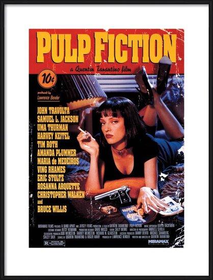 Pulp Fiction Obrazová reprodukcia