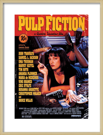 Pulp Fiction Obrazová reprodukcia