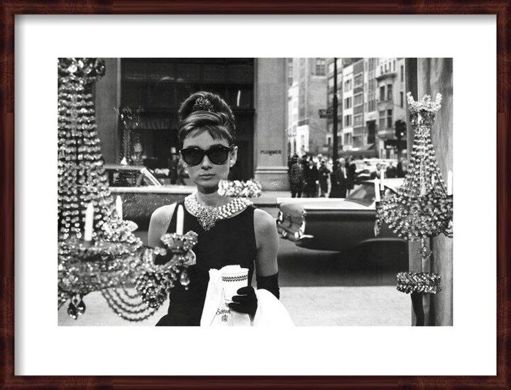 Audrey Hepburn - Window Obrazová reprodukcia