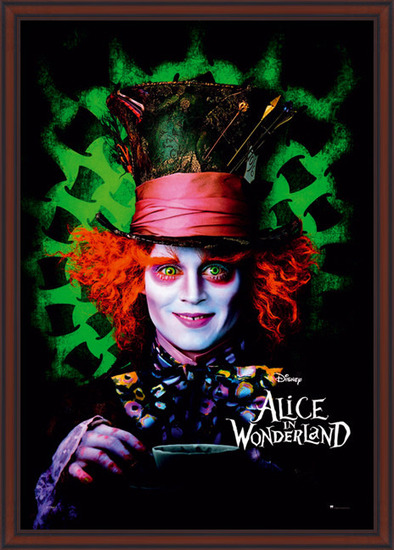 Plagát  ALICE IN WONDERLAND - mad hatter