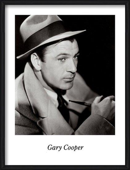 GARY COOPER Obrazová reprodukcia