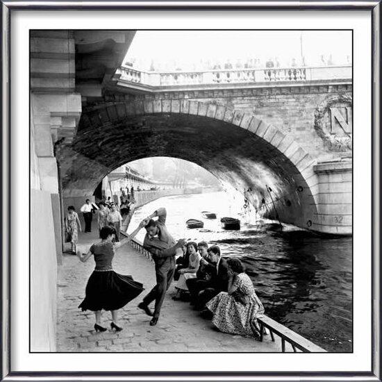 Plagát Paríž - rock & roll