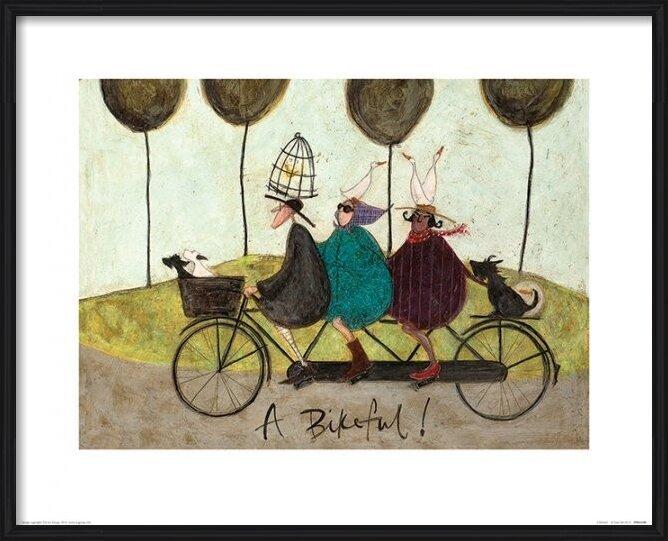 Sam Toft - A Bikeful! Obrazová reprodukcia