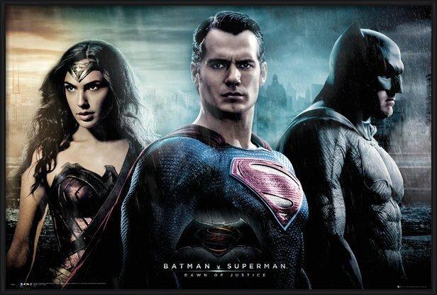Plagát Batman vs. Superman: Úsvit spravodlivosti - City