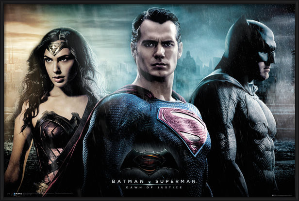 Plagát Batman vs. Superman: Úsvit spravodlivosti - City
