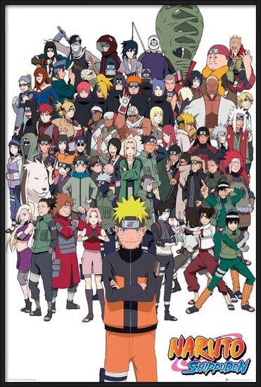 Plagát  Naruto Shippuden - Group