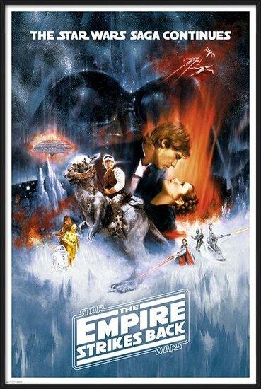 Plagát  Star Wars: Epizóda V  Impérium vracia úder - One sheet