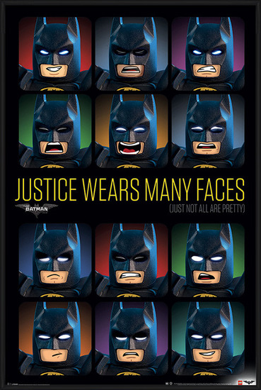 Plagát  Lego Batman - Justice Wears Many Faces