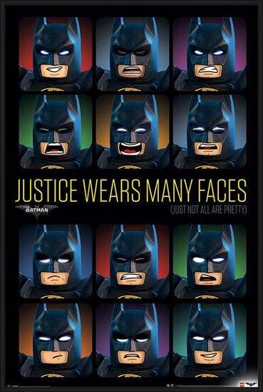 Plagát  Lego Batman - Justice Wears Many Faces