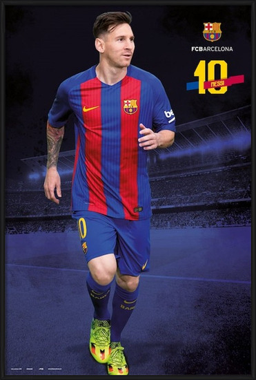 Plagát  Barcelona 2016/2017 - Lionel Messi