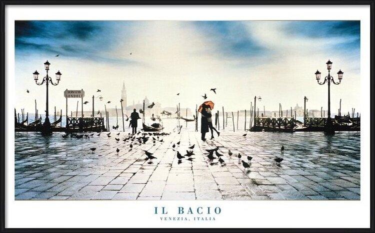 Plagát  Il Bacio - venezia, italy