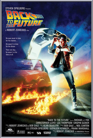 Plagát  BACK TO THE FUTURE