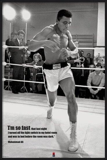 Plagát  Muhammad Ali - fast