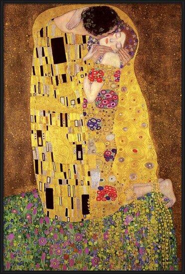 Plagát  Gustav Klimt – kiss