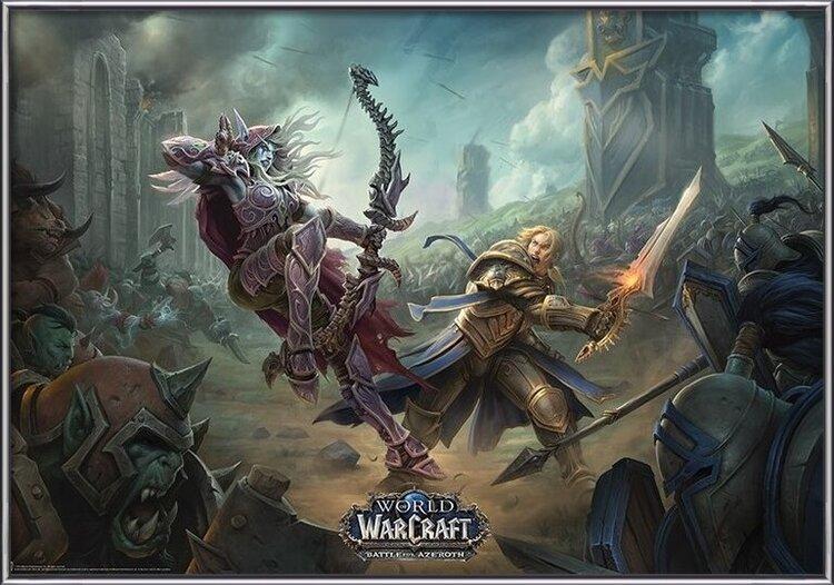 Plagát World of Warcraaft - Battle For Azeroth