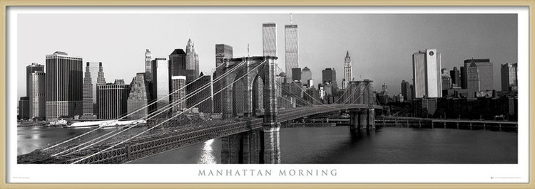Plagát  Manhattan - morning
