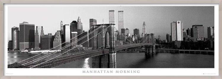 Plagát  Manhattan - morning