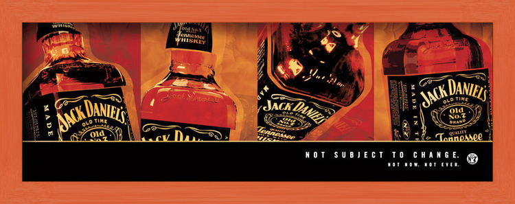 Plagát  Jack Daniel's - not subject to change