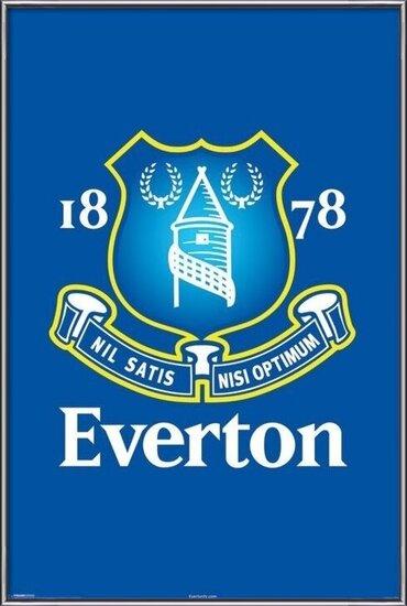Plagát  Everton - crest