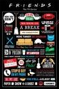 PRIATELIA - FRIENDS - infographic